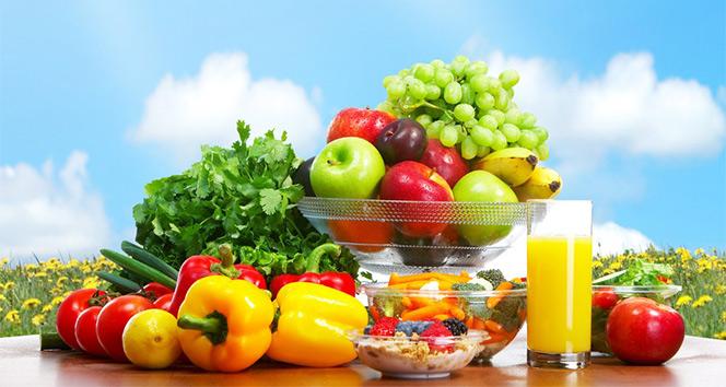 Sağlıklı beslenme için tabaklarınız 'renkli' olsun